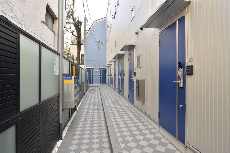 都立大学駅の賃貸:【青が彩るロフト付き。】