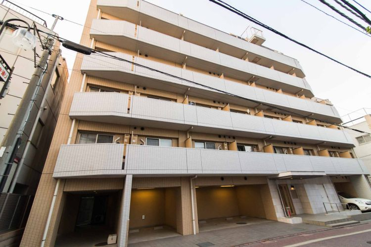 多摩川駅の賃貸:【広々ルーフバルコニーから一望出来るこの景色。】