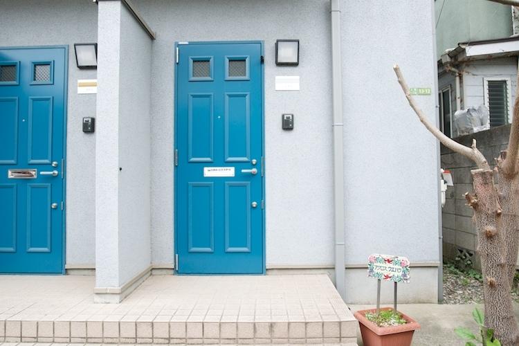 三軒茶屋駅の賃貸:【青色のドアのその向こうに。】